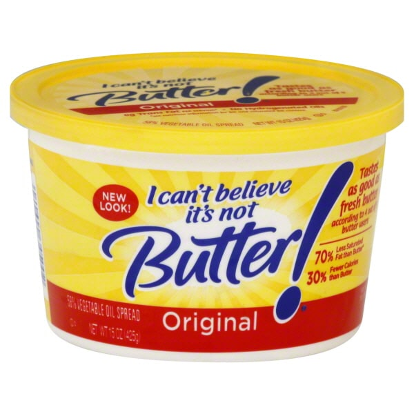 Image result for cant believe its not butter